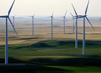 USA:n tuulivoima 100 GW:iin
