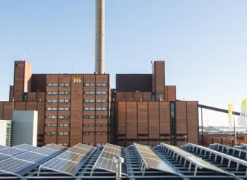 Aurinkosähköä Helsingistä