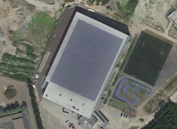 Kivikosta irtoaa aurinkosähköä 800 MWh vuodessa