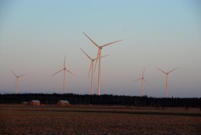 Suomen suurin tuulivoimapuisto valmistui