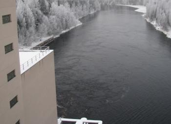 Kalojen ylisiirtolaitos Oulujoelle