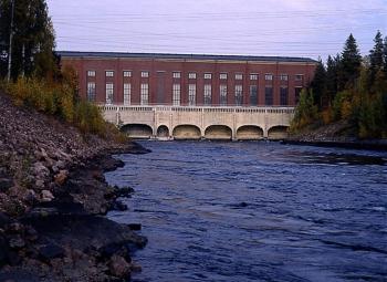 Imatran vesivoimalan perusparannus valmistui