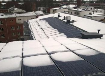 Suurin asuinkerrostalon aurinkovoimala käyttöön Malmilla