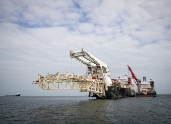 Kaasu Nord Stream 2:een alkuvuodesta 2020