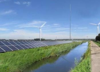 Hollantiin hybridienergiapuisto