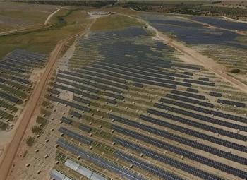 Espanjaan EU:n suurin aurinkovoimala