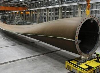Maailman pisin turbiinilapa