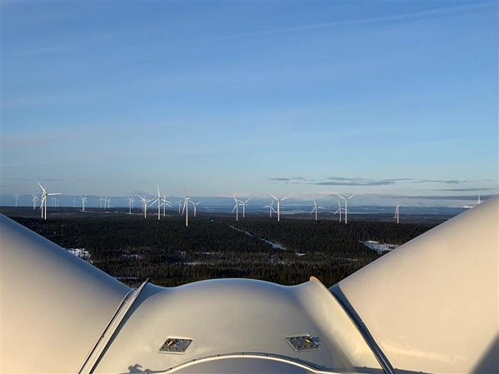 Ruotsissa käyntiin 288 MW tuulipuisto