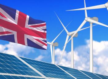 Brittisähköstä 44% uusiutuvilla
