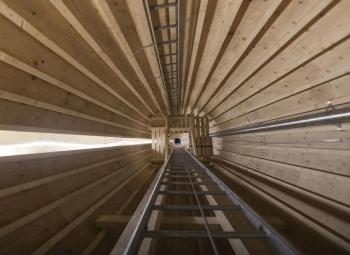 Ruotsiin puinen tuulivoimatorni