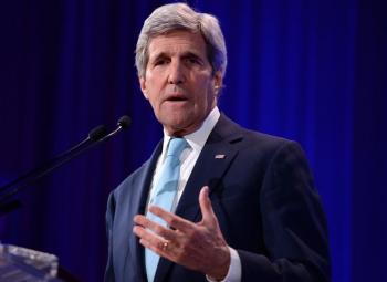 Ulkoministeri Kerry usutti yrityksiä ilmastotalkoisiin