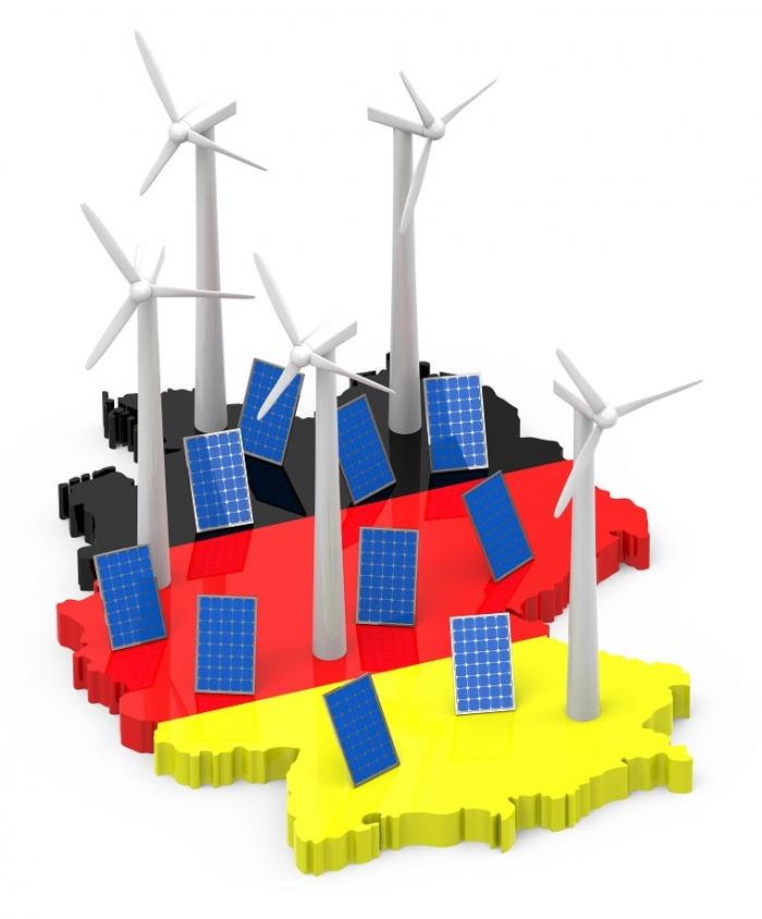 Saksa lähes 2020 uusiutuvan tavoitteessaan