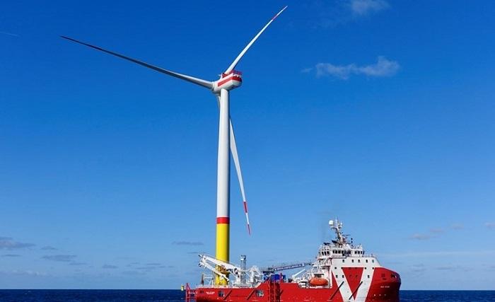 Saksassa tuulisähköä 15 TWh joulukuussa