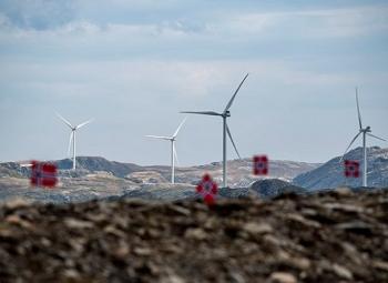 Norjan isoin tuulipuisto aloitti