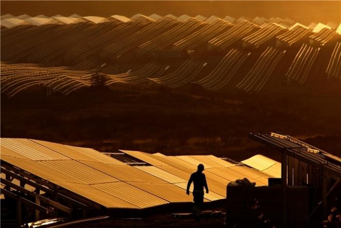 Euroopan suurin aurinkovoimala